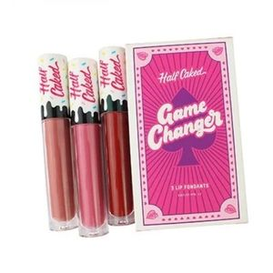 Half Caked Game Changer Lip Fondant Trio NWT